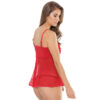 Babydoll in Rot